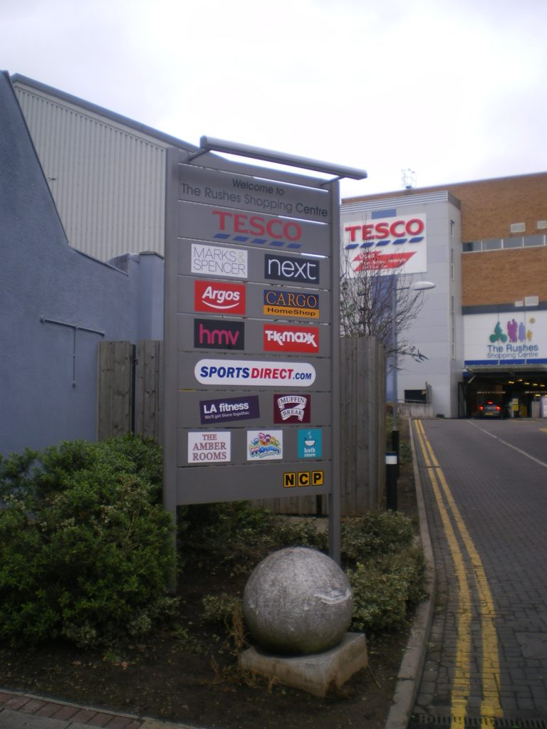 Sign Direct Leicester Signage Solutions Small Large Totems Retail Park