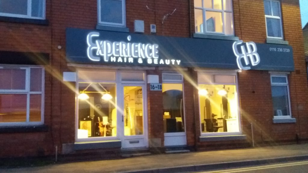 Sign Direct Leicester Signage Solutions Retail Shop Frontage Experience Hair & Beauty