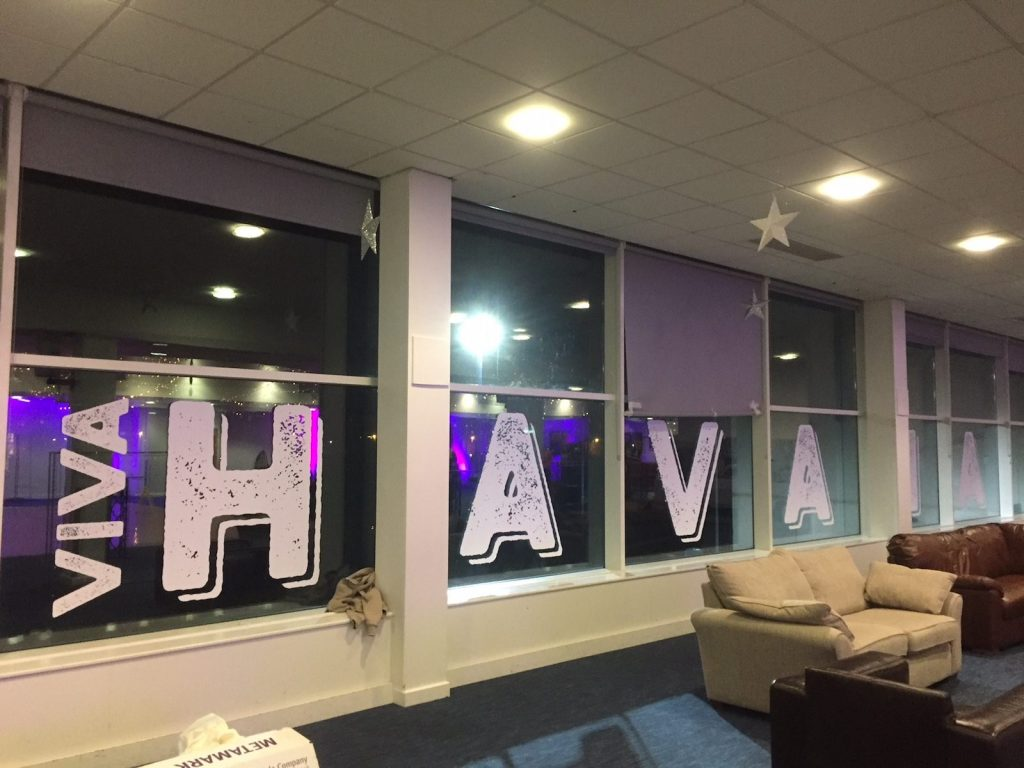 Sign Direct Leicester Signage Solutions Retail Bespoke Graphics Viva Havana