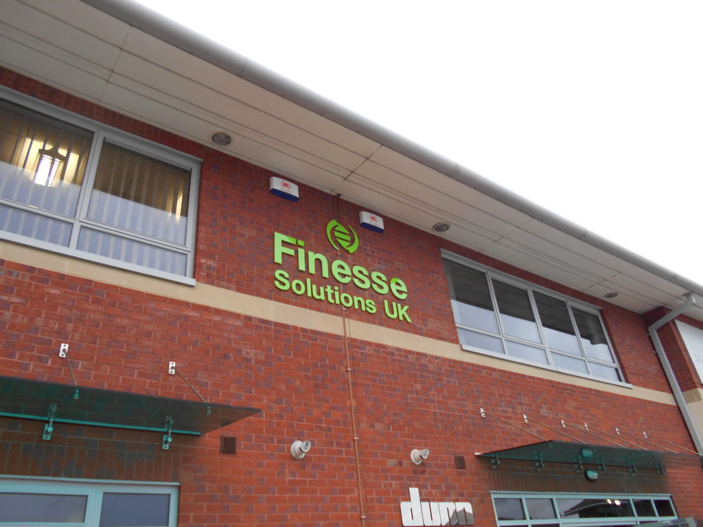 Sign Direct Leicester Signage Solutions Built Up Lettering Finesse Solutions Uk