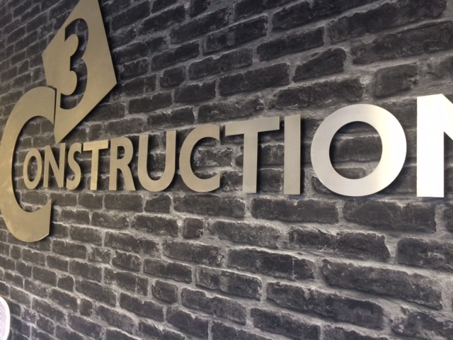 Sign Direct Leicester Signage Solutions Built Up Lettering Construction