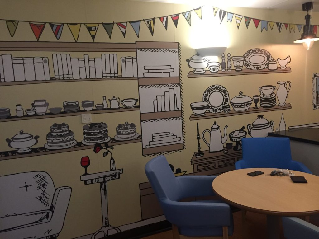Sign Direct Leicester Wall Art Signage Solutions Dementia Friendly Design Leicester Royal Infirmary