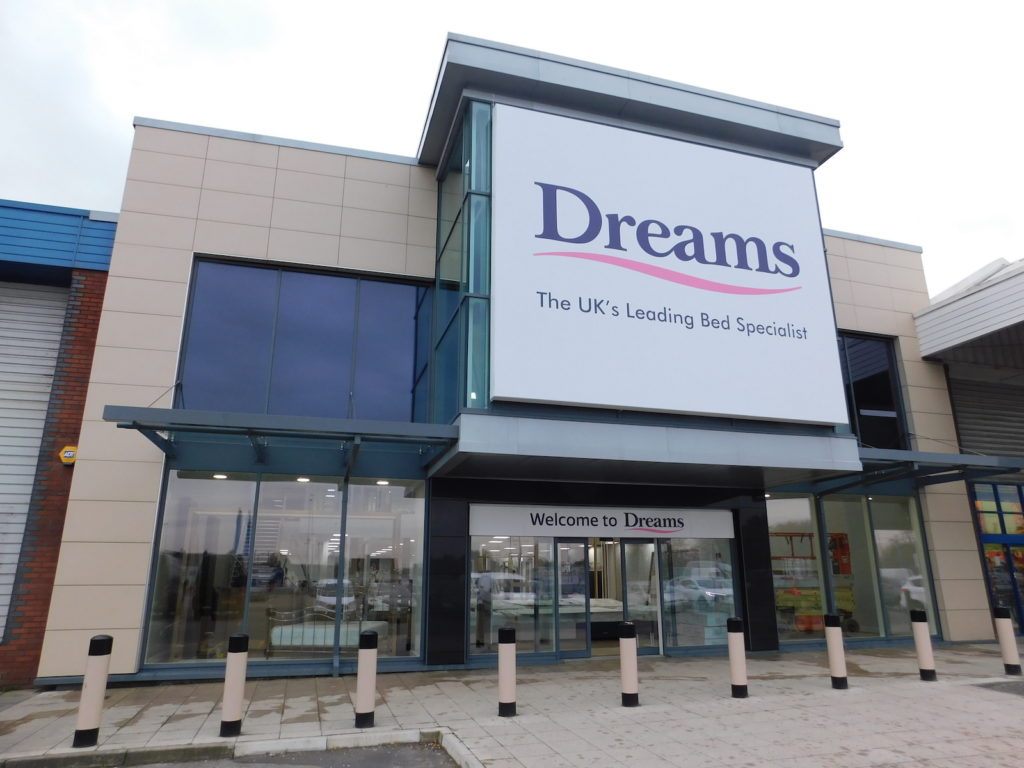 Sign Direct Leicester Signage Solutions Dreams Flexface Signage