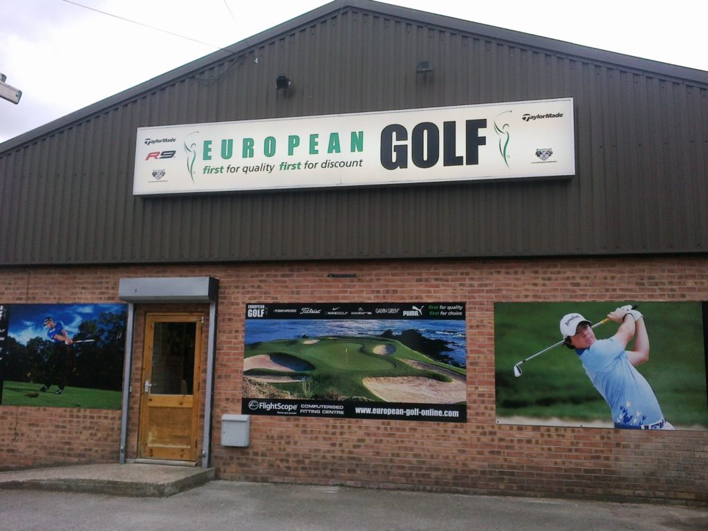 Sign Direct Leicester Signage Solutions Retail Shop Frontage Golf
