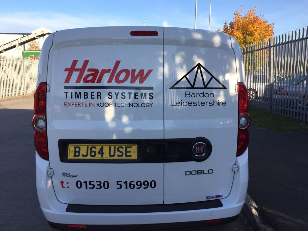 Sign Direct Leicester Signage Solutions Fleet Vehicle Wrap Harlow