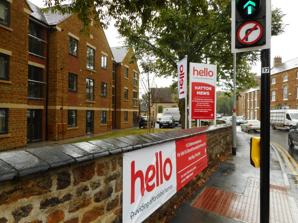Sign Direct Leicester Signage Solutions Construction & Property Development Hello Homes