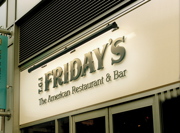 Sign Direct Leicester Signage Solutions Illuminated Sign TGI Fridays