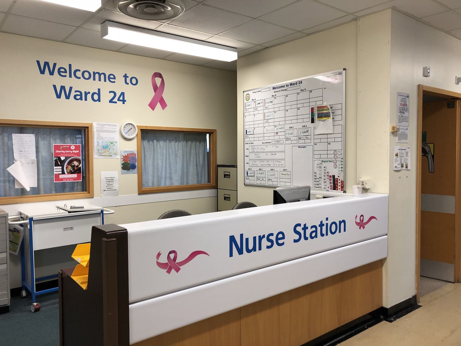 Sign Direct Commercial Signage Solutions Leicester NHS Nurse Station Wall Art
