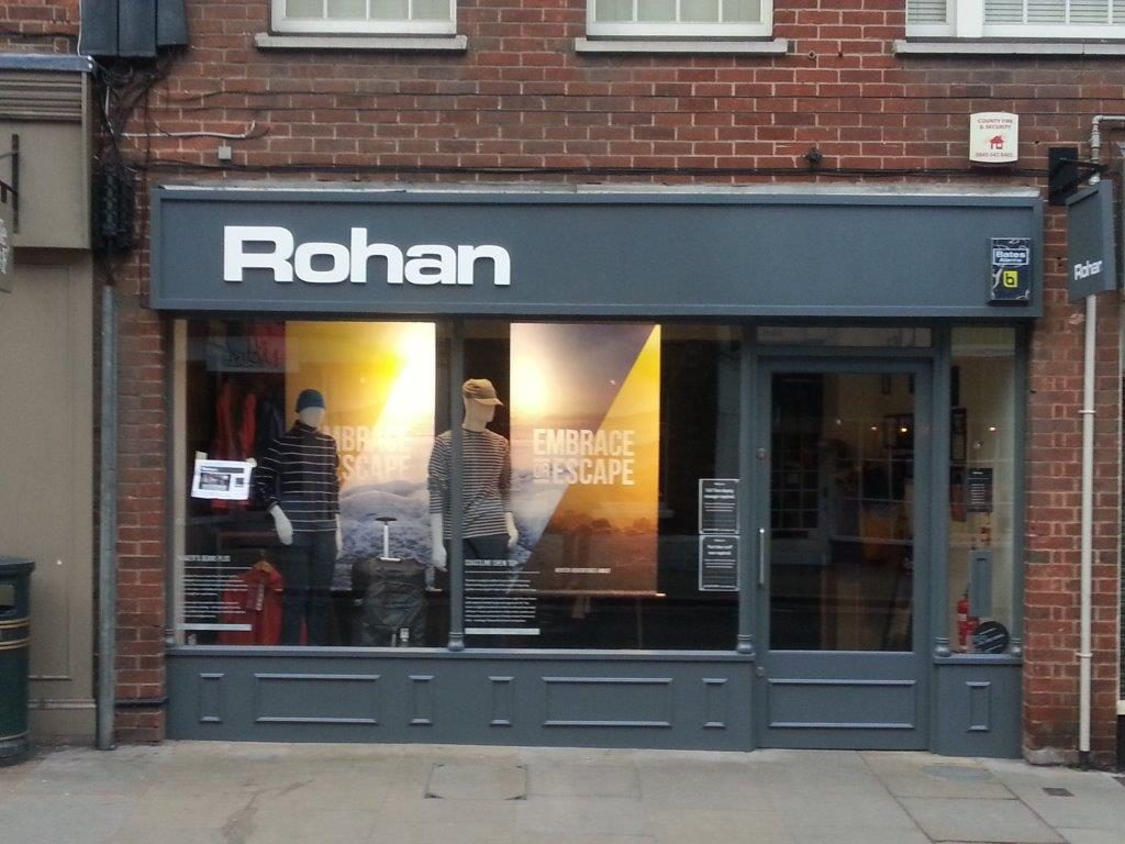 Sign Direct Leicester Signage Solutions Non Illuminated Signs Rohan