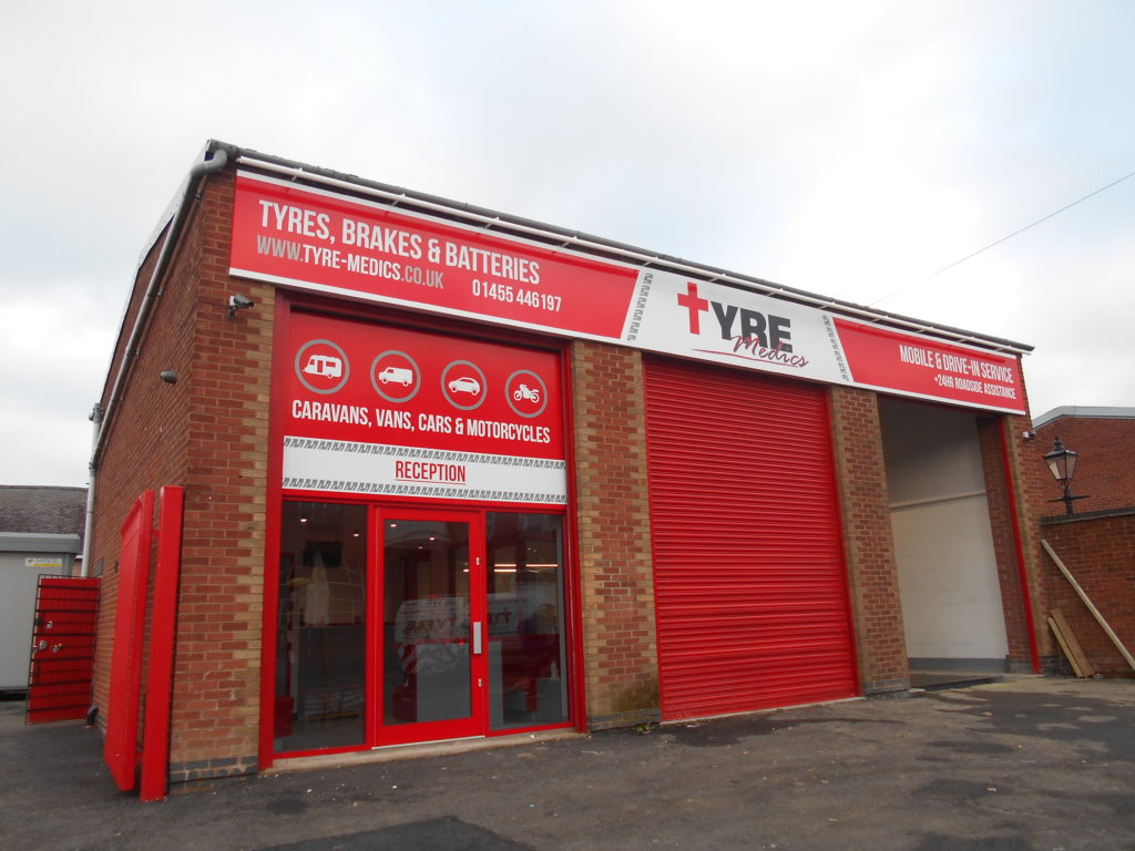 Sign Direct Leicester Signage Solutions Non Illuminated Signs Tyre