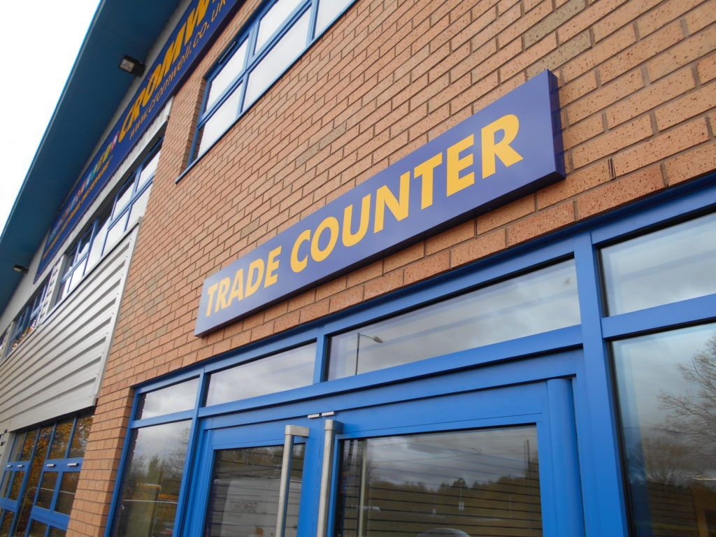 Sign Direct Leicester Signage Solutions Non Illuminated Signs Trade Counter