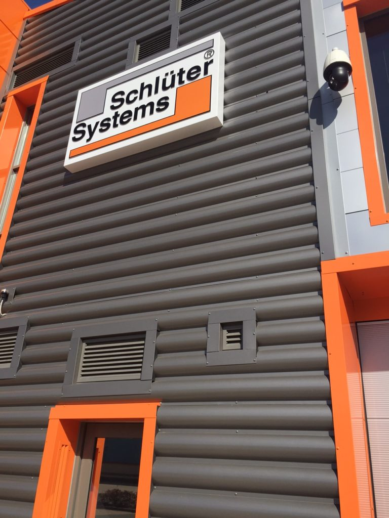 Sign Direct Leicester Signage Solutions Non Illuminated Signs Schluter Systems