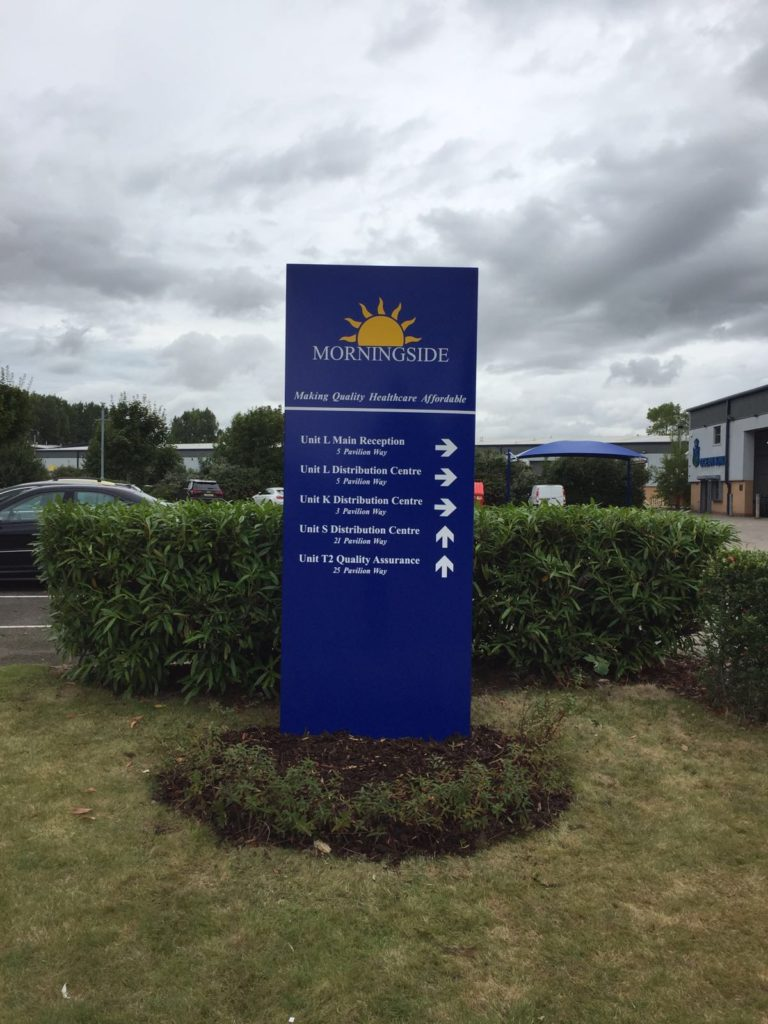 Sign Direct Leicester Signage Solutions Small Large Totems Morningside