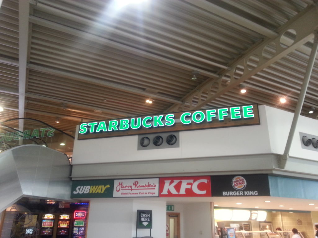Sign Direct Leicester Signage Solutions Leisure Facilities Starbucks