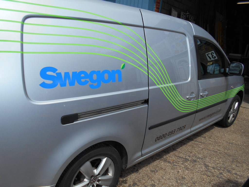 Sign Direct Leicester Signage Solutions Fleet Vehicle Wrap Swegon