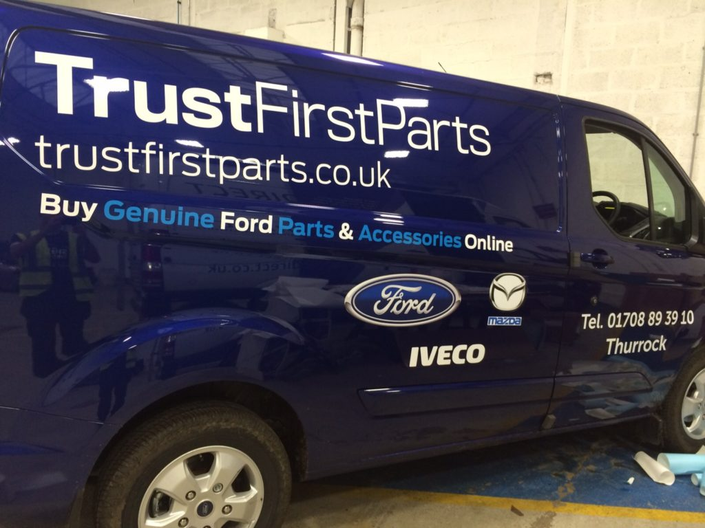 Sign Direct Leicester Signage Solutions Fleet Vehicle Wrap Trust