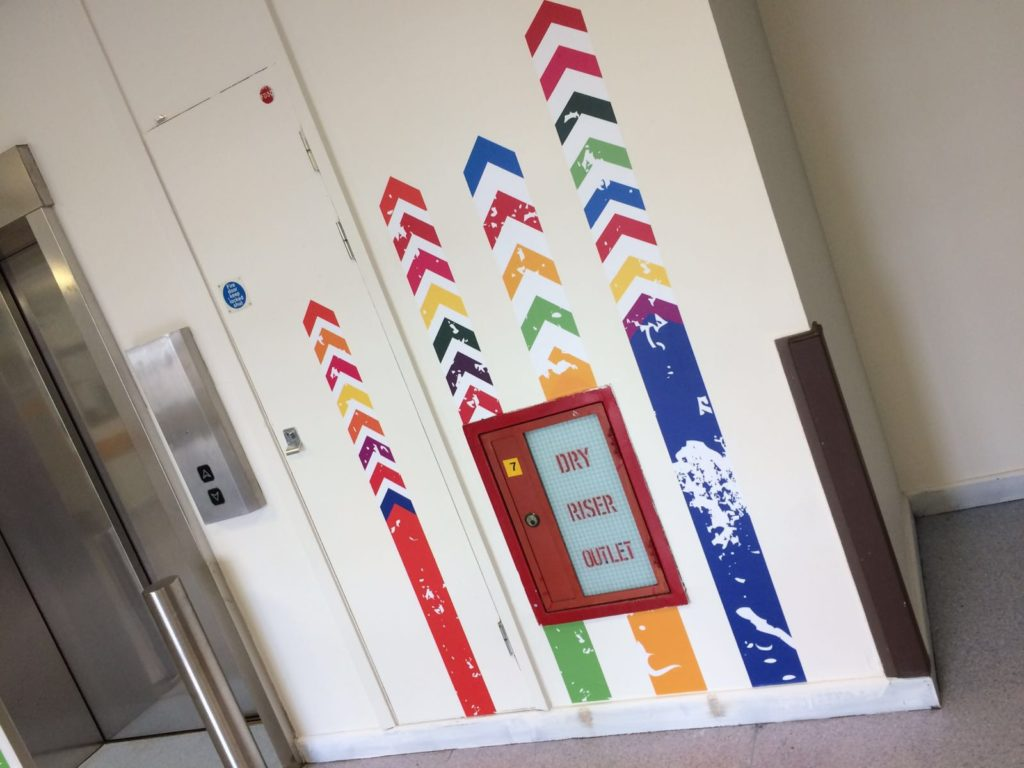 Sign Direct Leicester Signage Solutions NHS & Healthcare Elevator Wall Art