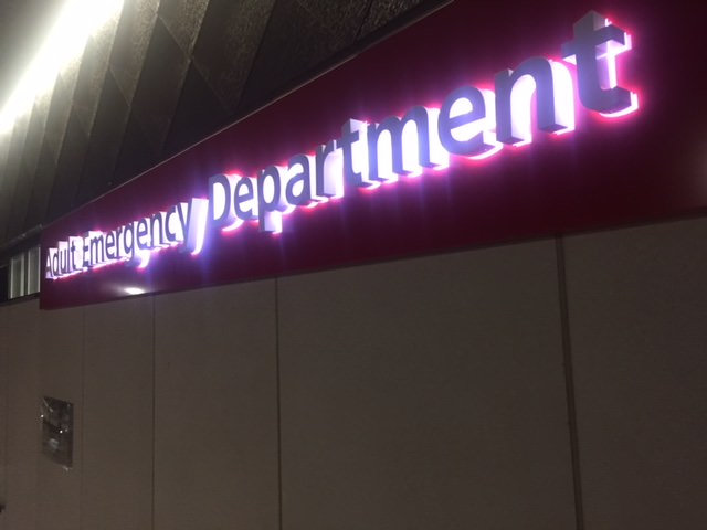 Sign Direct Leicester Signage Solutions NHS Illuminated Entrance Adult Emergency