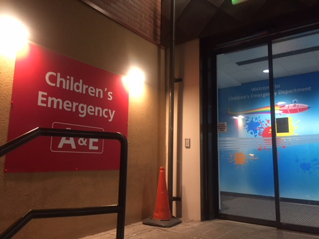 Sign Direct Leicester Signage Solutions NHS Illuminated Entrance Childrens Emergency