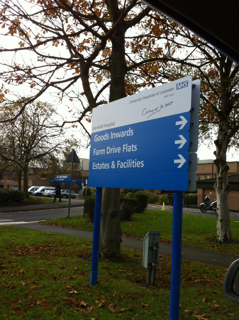 Sign Direct Leicester Signage Solutions Glenfield Hospital