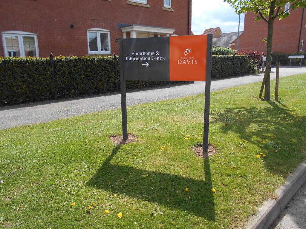 Sign Direct Property Development Leader Panels Signage Solution Leicester