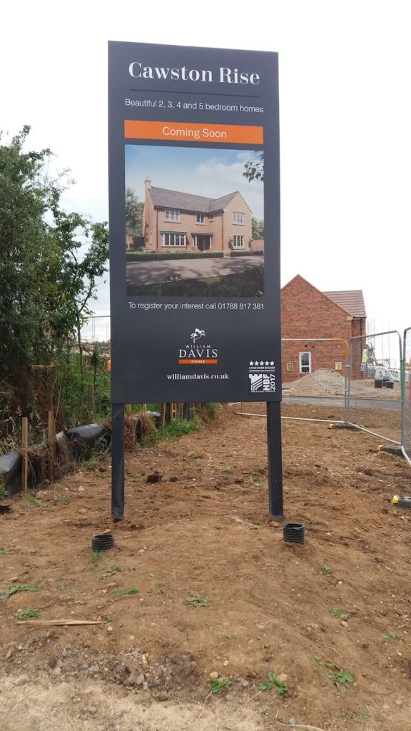 Sign Direct Property Development Totem Signage Solution Leicester