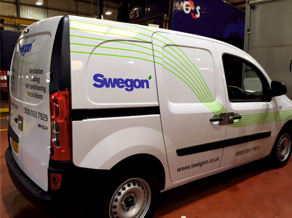 swegon-van-bespoke-graphics-sign-direct-signage-solutions-for-vehicles-leicester