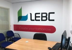 LEBC Wall Art Signage Solution Sign Direct Leicester